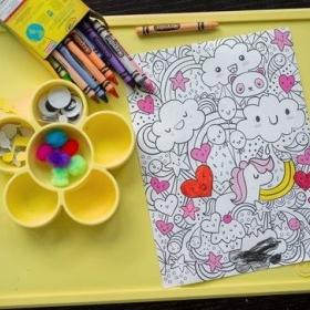Zīmēšanai un rokdarbiem