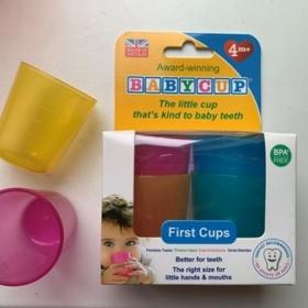 Baby cup glāzītes