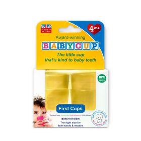 Babycup glāzītes (4 gab.) dzeltenas
