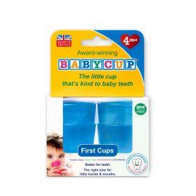 Babycup glāzītes (4 gab.) zilas