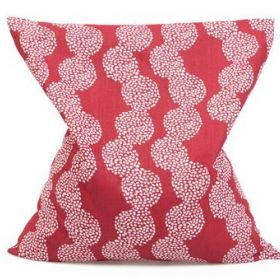 Ķiršu kauliņu spilvens sarkans 22x24 cm