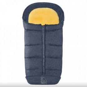 Heitmann Felle Comfort 2in1 ratu guļammaiss ar aitas vilnu - zils