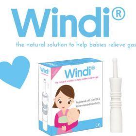 Windi® gāzu izvades caurulīte jaundzimušajiem 10 gab.
