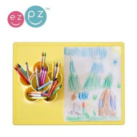 EZPZ The Play Mat paliktnis ēst gatavošanai un radošām izpausmēm- dzeltens