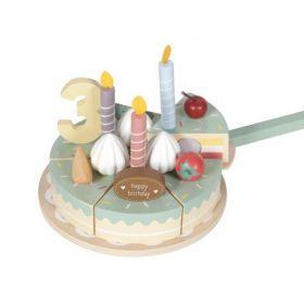 Dzimšanas dienas kūka ar cipariem un rotājumiem Birthday cake