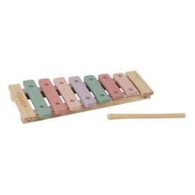Little Dutch Xylophone pink koka ksilofons rozā