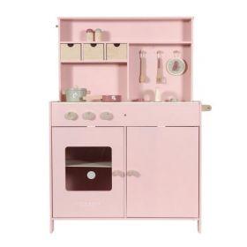 Little Dutch lielā koka virtuvīte rozā