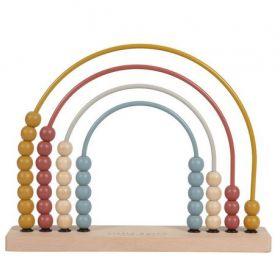 Little Dutch Rainbow abacus skaitāmie kauliņi krāsaini
