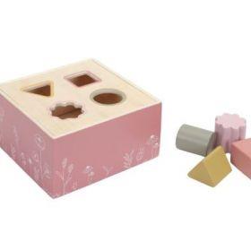 Little Dutch shape sorter formiņu šķirotājs rozā