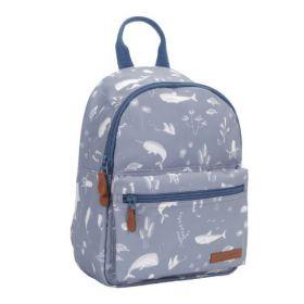 Little Dutch Kids backpack Ocean blue - bērnu mugursoma zila