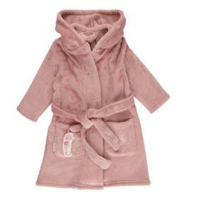Little Dutch Baby bathrobe vannas halāts rozā 74/80 izm.