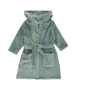 Little Dutch Baby bathrobe vannas halāts zaļš 98/104 izm.