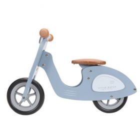 Little Dutch Balance bike Scooter blue koka līdzsvara skrejritenis zils