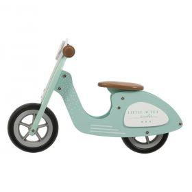 Little Dutch Balance bike Scooter mint koka līdzsvara skrejritenis mint zaļš