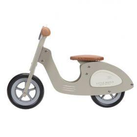 Little Dutch Balance bike Scooter olive koka līdzsvara skrejritenis olīvu zaļš