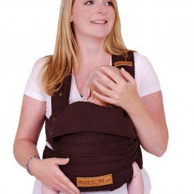 Ergonomiskā soma Marsupi Chocolate