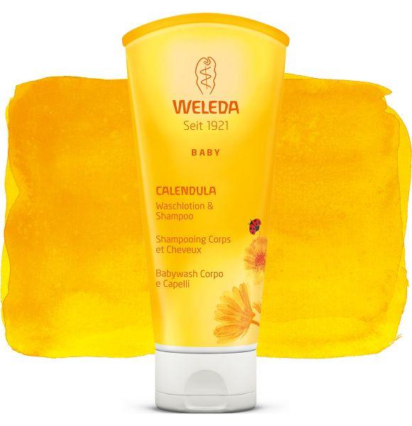 Weleda kliņģerīšu šampūns un dušas ziepes, 200ml
