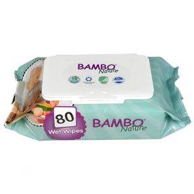 Bambo mitrās salvetes
