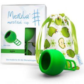 Menstruālā piltuve Merula Apple zaļa