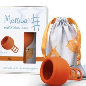 Menstruālā piltuve Merula Fox oranža
