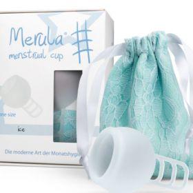 Menstruālā piltuve Merula Ice balta