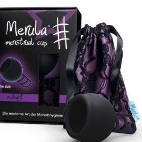 Menstruālā piltuve Merula Midnight melna